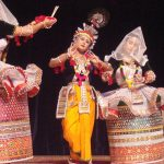 Manipuri indian dance