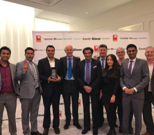 Kohinoor Team celebrate Grocer Award