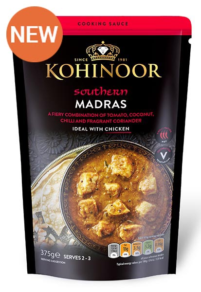 Kohinoor Madras Cooking Sauce