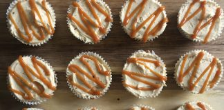spiced banoffee cupcakes